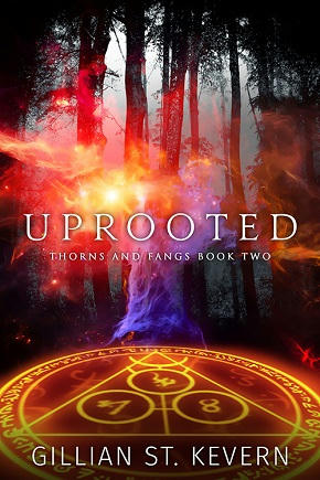 Gillian St. Kevern - Uprooted Cover