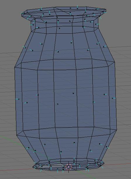 [Intermédiaire] [Blender 2.4 à 2.49] Créer et intégrer son premier mesh de A à Z : 4 - Modélisation d'un vase 8hd0fz990h3pcij6g