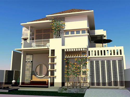 Contoh Desain Rumah Minimalis 2 Lantai Creo House