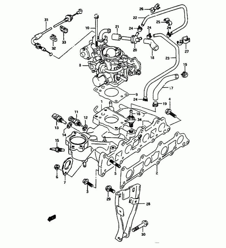 Engine Diagram 1995 Toyota T100 Sr5 Electrical Circuit Electrical