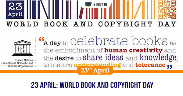 Daily GK, 23 April: World Book and Copyright Day