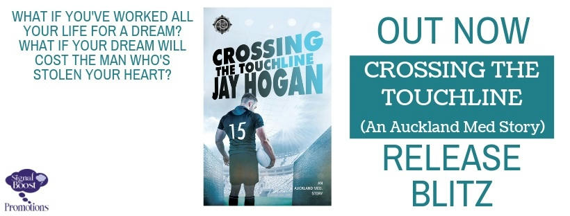 Jay Hogan - Crossing The Touchline RBBanner
