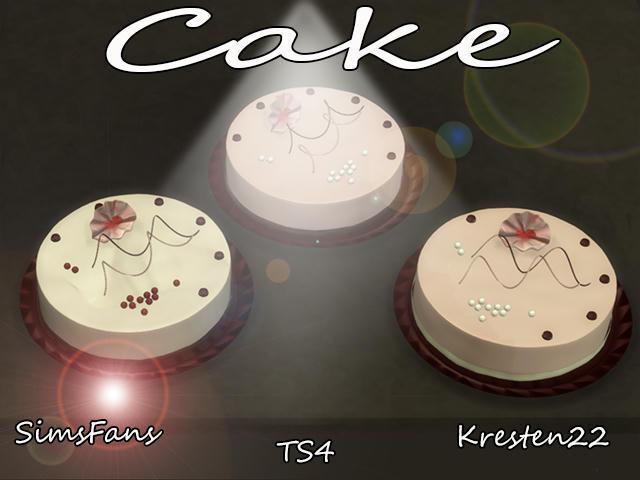 Sims  Birthday Cake Fire