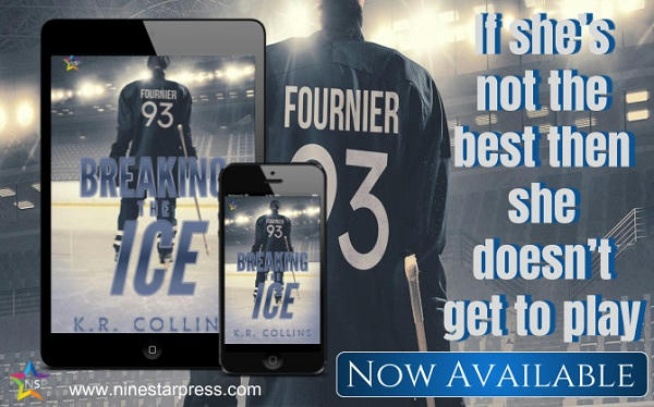K.R. Collins - Breaking the Ice Now Available