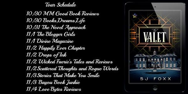 S.J. Foxx - The Valet Tour Schedule Graphic