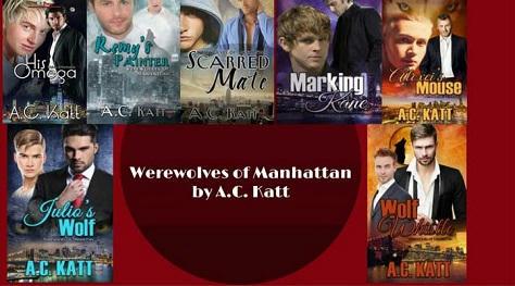 A.C. Katt - Werewolves of Manhatten series banner