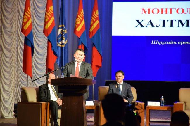 Монгол Улсын Ерөнхийлөгч Х.Баттулга: Шүүхийн захиргааны байгууллага бие даан ажиллах ёстой