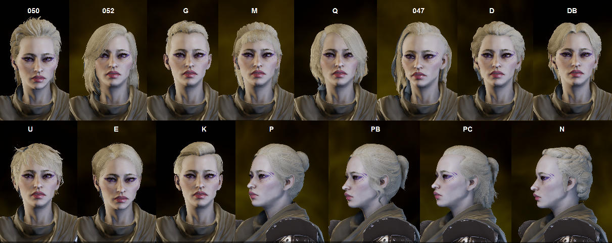 Spoilers All] Trespasser hair mod compatibility testing