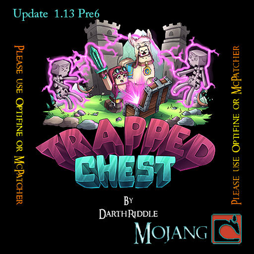 TrappedChest 1.13.1 Minecraft Texture Pack