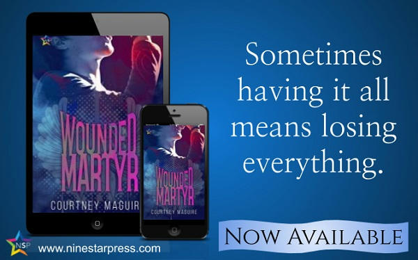 Courtney Maguire - Wounded Martyr Now Available