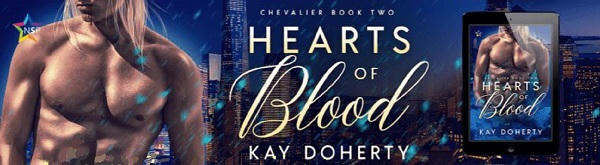 Kay Doherty - Hearts of Blood NineStar Banner