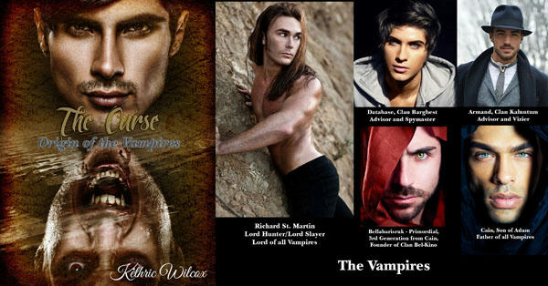 Kethric Wilcox - The Curse BANNER-The-Vampires