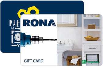 Rona Physical Gift Cards