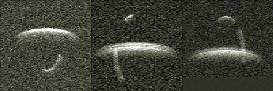 El asombroso asteroide binario 66391 1999 KW4 que nos visitará el 24 de mayo