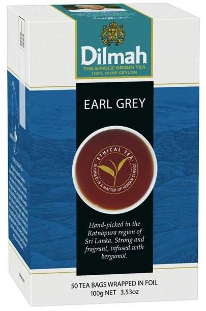 Dilmah Flavored Ceylon Tea Vanilla, Lemon, Blackcurrant,Cinnamon and ...