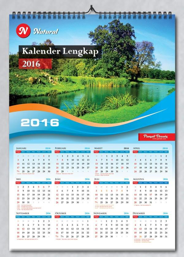 Contoh Kalender Dinding Yang Menarik Creo House