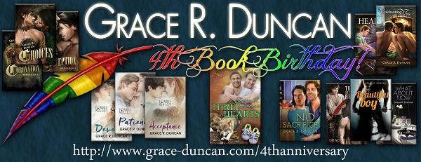 Grace R. Duncan 4th Anniversary Banner
