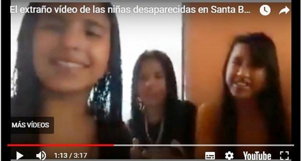 Enigmático video agrega misterio a desaparición de niñas en Santa Bárbara, Honduras
