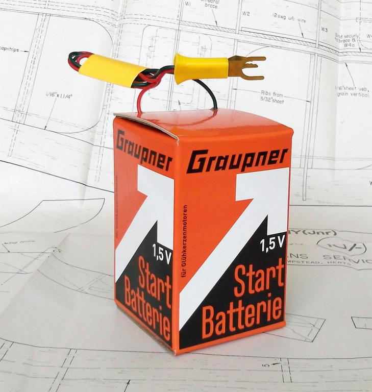 D.I.Y Graupner 1.5 V Starter Battery Box  Dj5kq319ary773f6g