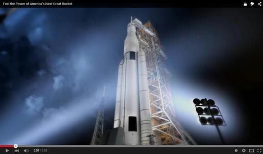 La NASA, presentó en un video en YouTube, al que sería el nuevo Supercohete que podría llevarnos a Marte