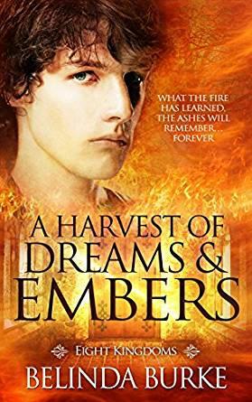 Belinda Burke - A Harvest of Dreams & Embers Cover
