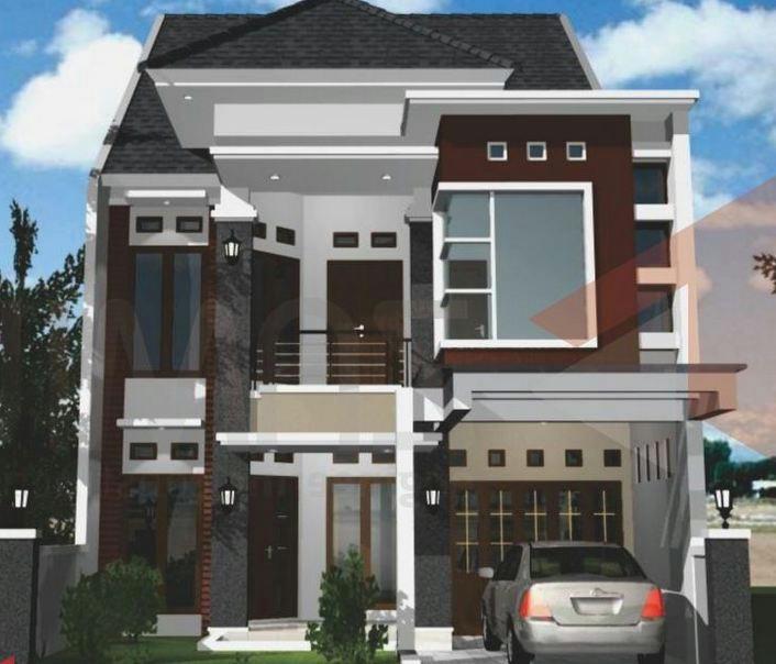 3 Contoh Denah Rumah Minimalis Modern Terbaru: Contoh Gambar Rumah Minimalis Modern 2 Lantai Terbaru