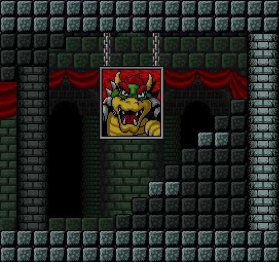 Mario Castle Backgrounds