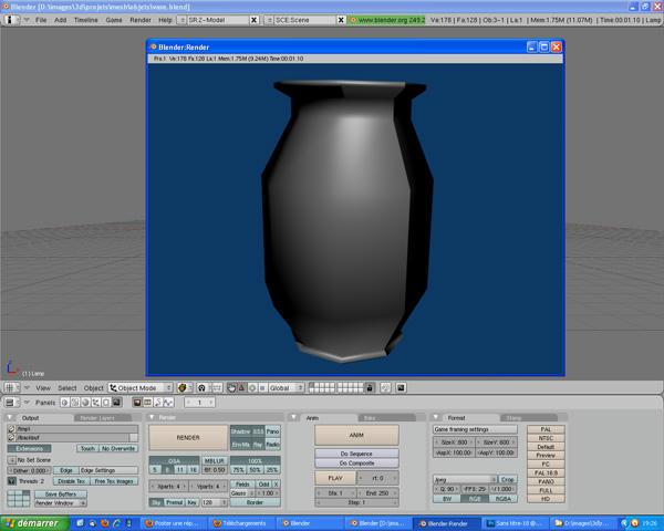 [Intermédiaire] [Blender 2.4 à 2.49] Créer et intégrer son premier mesh de A à Z : 4 - Modélisation d'un vase Tec5bhwldfjal506g