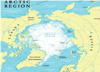 Arctic ocean will be partly ice free  by 2044 19 Nov Daily Current affairs