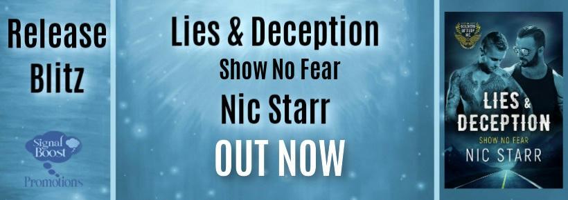 Nic Starr - Lies & Deception RB Banner