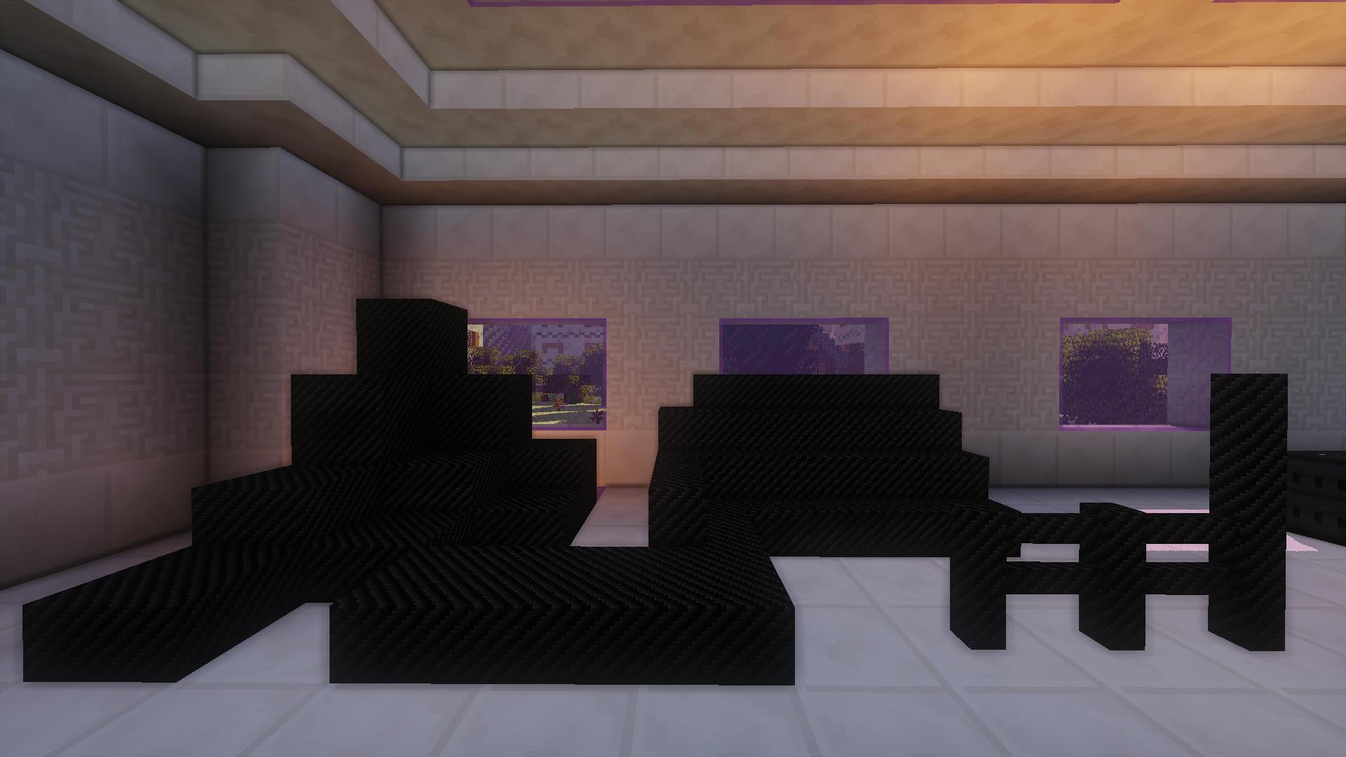 Carbon Fibre Decoration Blocks