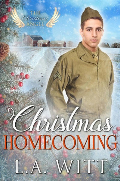 L.A. Witt - Christmas Homecoming Cover L