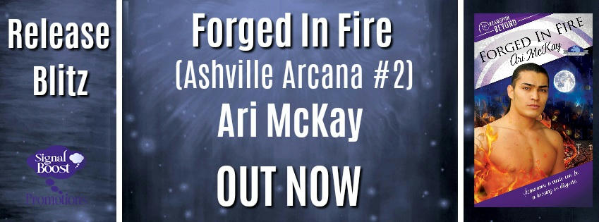 Ari McKay - Forged In Fire RBBanner