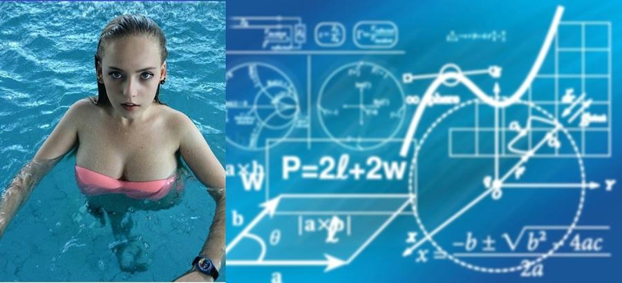 Oksana Neveselaya la profesora de matemáticas más sexy del mundo