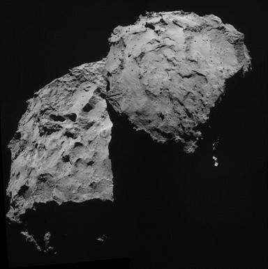 El-67P/Churyumov-Gerasimenko-es-un-cometa-descubierto-en-1969-por-el-científico-ucraniano-soviético-Klim-Ivánovich-Churíumov,-y-tiene-un-periodo-orbital-de-6,6-años
