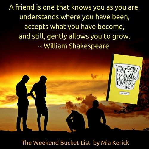 Mia Kerick - The Weekend Bucket List William Shakespeare Teaser