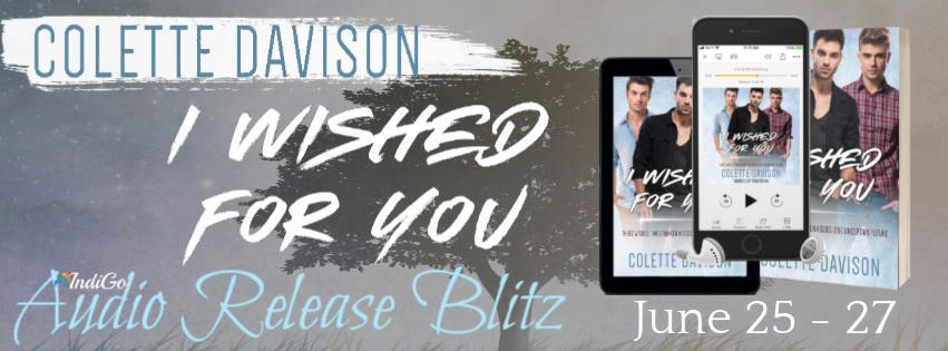 Colette Davison - I Wished for You Audio RB Banner