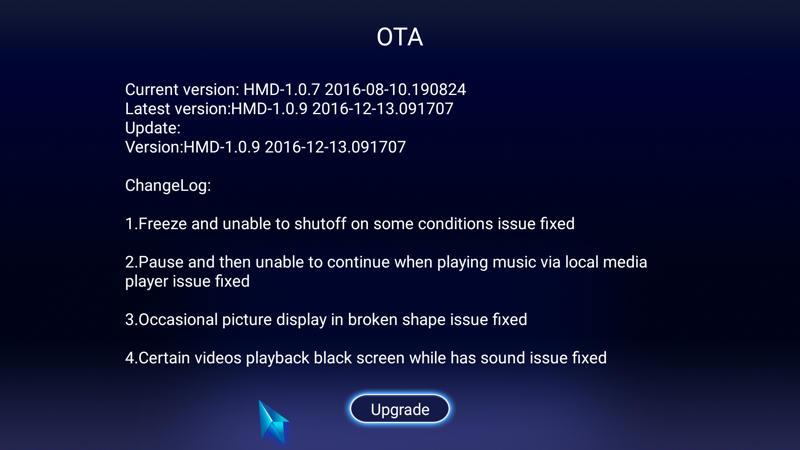Unwanted OTA firmware update Popup message