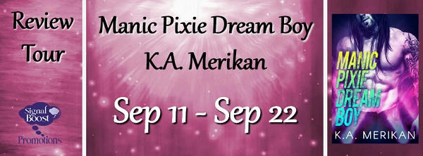 KA Merikan - Manic Pixie Dream Boy RTourGraphic