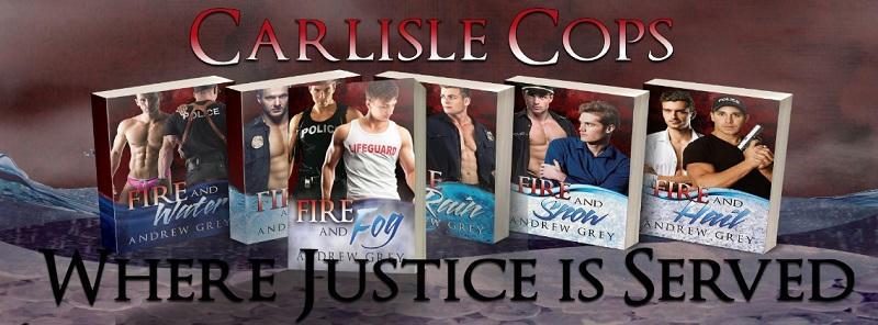 Andrew Grey - Carlisle Cops series Banner