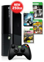 Pay Just 5% More for Microsoft's Xbox 360 Special Edition Blue Bundle and Get Double the Capacity