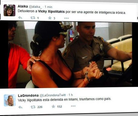 En-foros-y-Redes-Sociales,-la-gente-se-ensañó-contra-Vicky-Xipolitakis,-con-motivo-de-su-arresto-en-el-aeropuerto-de-Miami