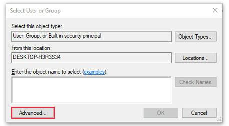 Menambahkan akses user secara manual Windows