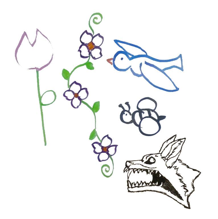 Spring sketches