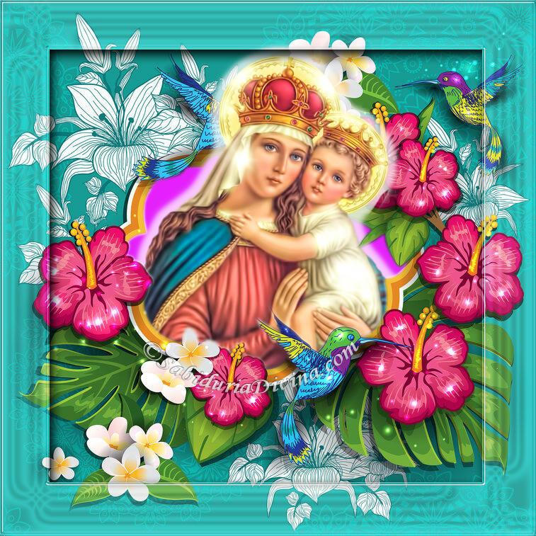 Virgen con el Niño Jesus