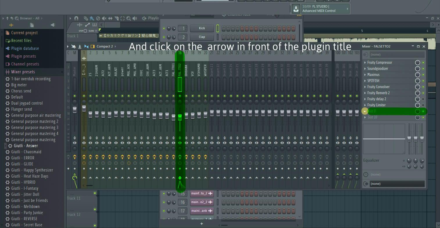 Fl studio mixer presets tutorial | How to Use the FL Studio