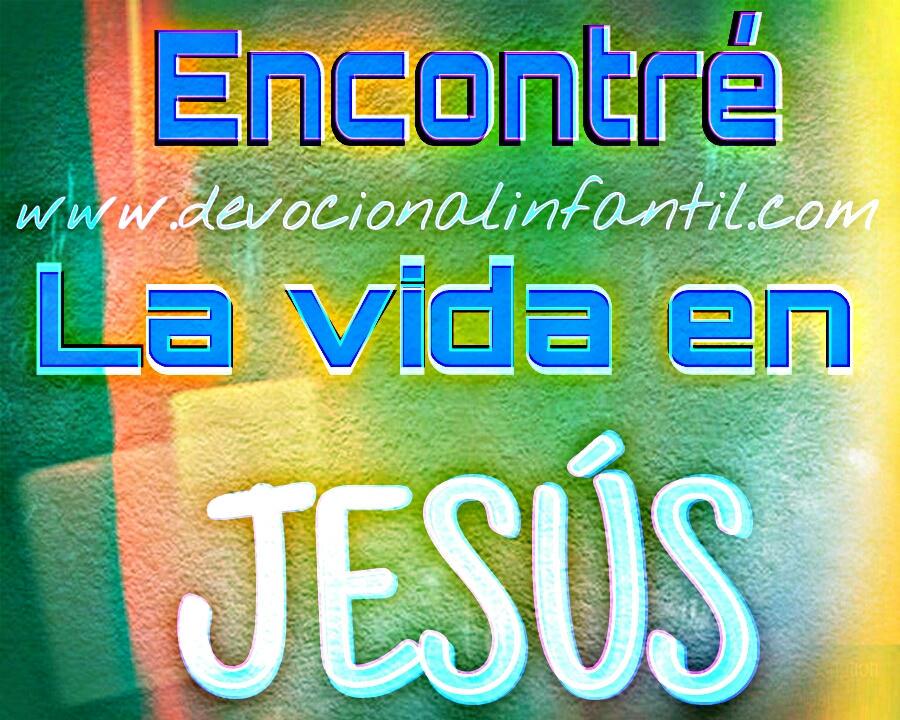 Encontre la vida en Jesús – Tarjeta
