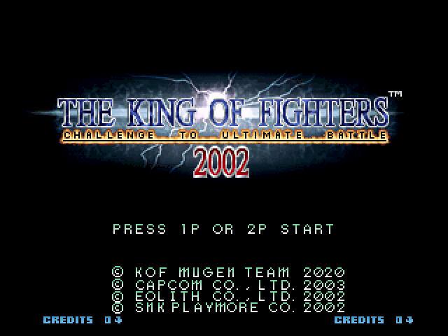 THE KING OF FIGHTERS ULTIMATE MUGEN 2002 released 9r3vamk5jvhevdzzg