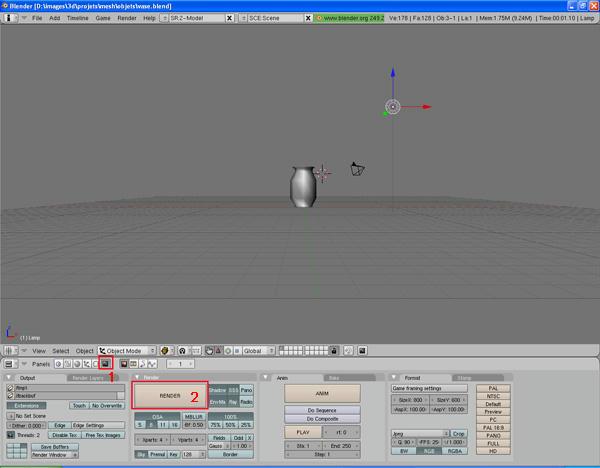 [Intermédiaire] [Blender 2.4 à 2.49] Créer et intégrer son premier mesh de A à Z : 4 - Modélisation d'un vase X9b2yxcsip9xu8i6g