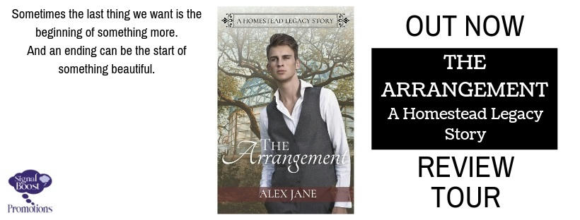 Alex Jane - The Arrangement RTBANNER-91